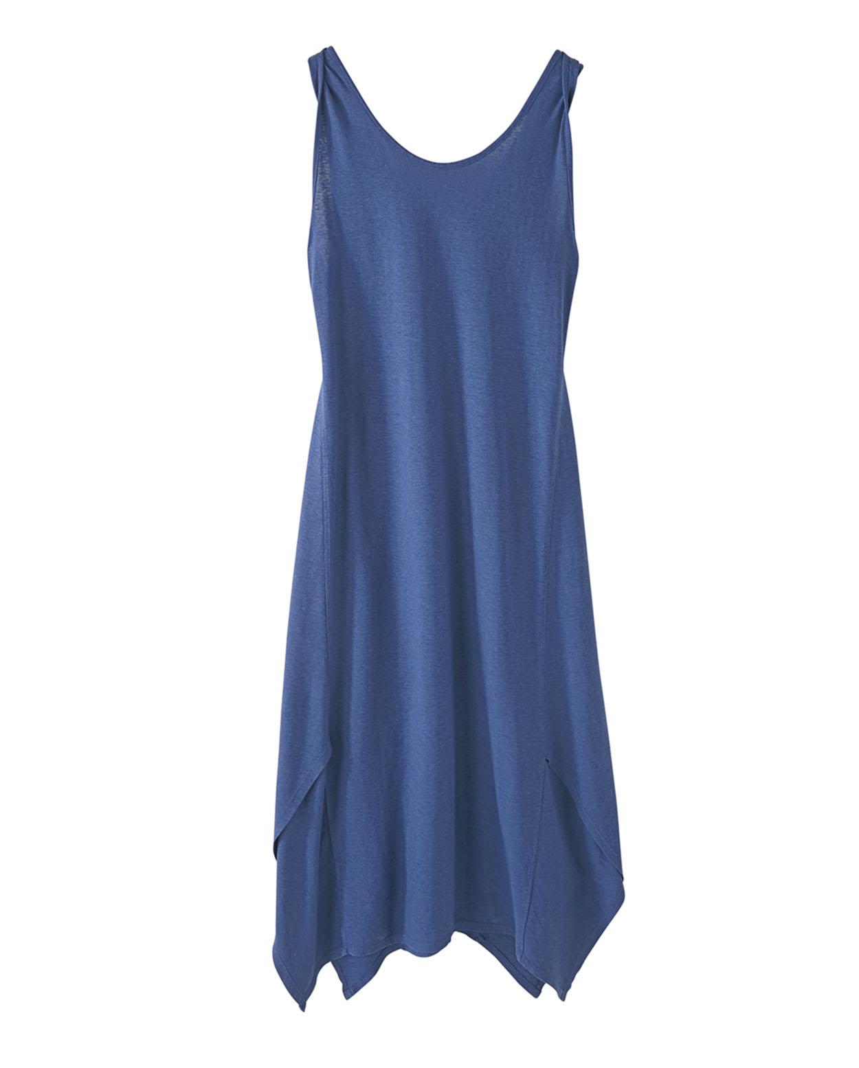 Kleid aus Hanf Baumwoll Jersey Wrap London